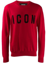 Load image into Gallery viewer, DSQUARED2 ICON KNIT RED