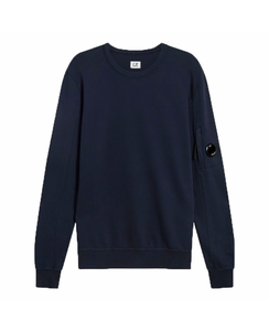 CP COMPANY CREW NECK SWEATER - NAVY
