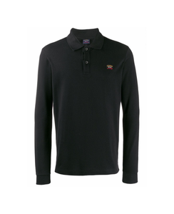 PAUL & SHARK LONG SLEEVE POLO SHIRT-NAVY