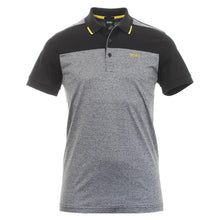 Load image into Gallery viewer, HUGO BOSS POLO SHIRT-GREY - BLACK - YELLOW