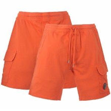 Load image into Gallery viewer, CP COMPANY - LENS COTTON SHORTS - ORANGE