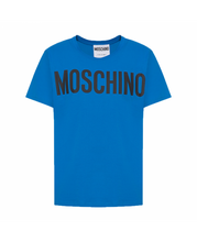 Load image into Gallery viewer, MOSCHINO COUTURE - ROUND NECK T-SHIRT - BLUE