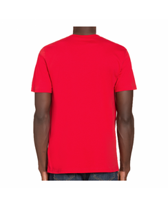 MOSCHINO COUTURE ROUND NECK T-SHIRT - RED