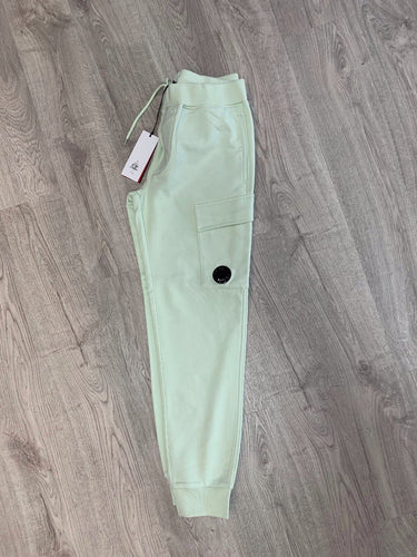 CP COMPANY-LENS JOGGERS-LIGHT GREEN