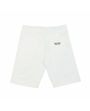 Load image into Gallery viewer, MOSCHINO SIDE TAPE SHORTS IN WHITE