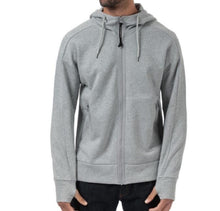 Load image into Gallery viewer, GREY CP COMPANY HOODIE WITH FULL ZIP