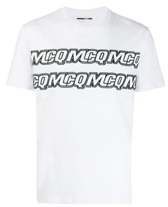 MCQ By Alexander McQueen - Embroided MCQ  - white