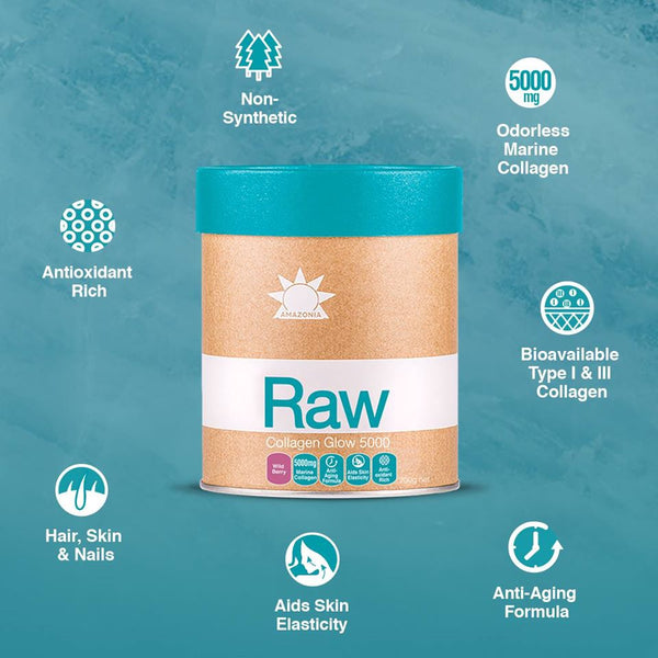 Amazonia Raw Collagen Glow 5000