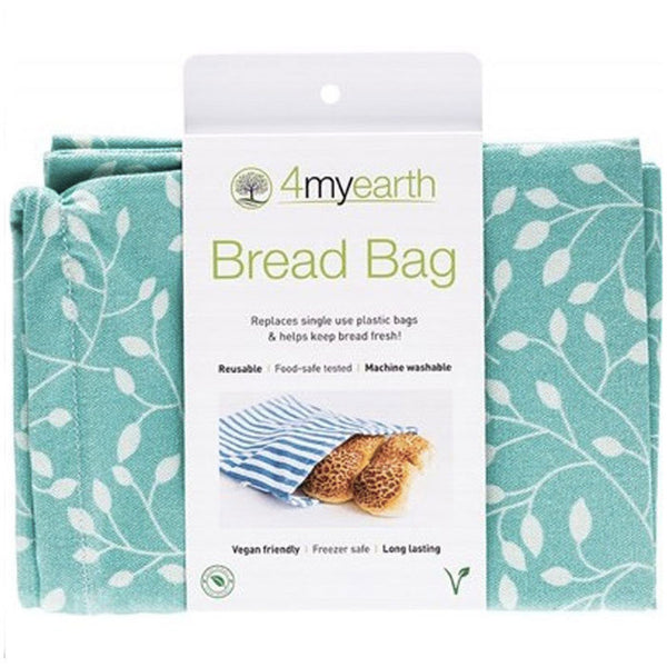 4MYEARTH Bread Bag Leaf - 30 x 40cm