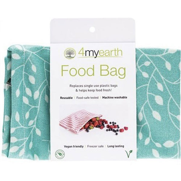 4MYEARTH Food Bag Leaf - 20 x 25cm