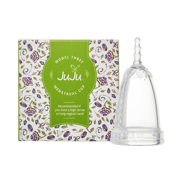 Ju Ju Menstrual Cup Model 3 Clear