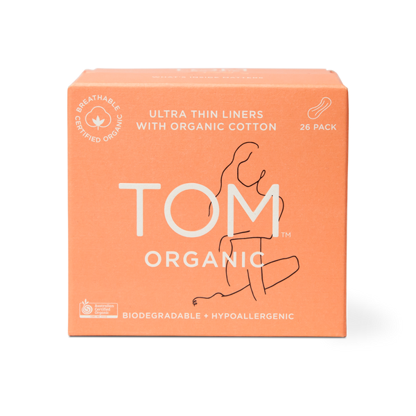 TOM Organic Ultra Thin Liners 26 pack