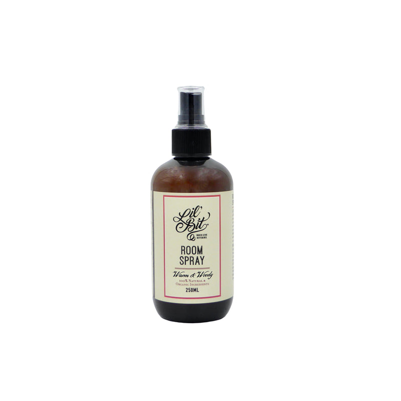 Lil'Bit Pretty Warm & Woody Room Spray 250ml
