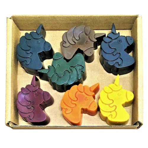 ECO CRAYONS Unicorn 7 pack