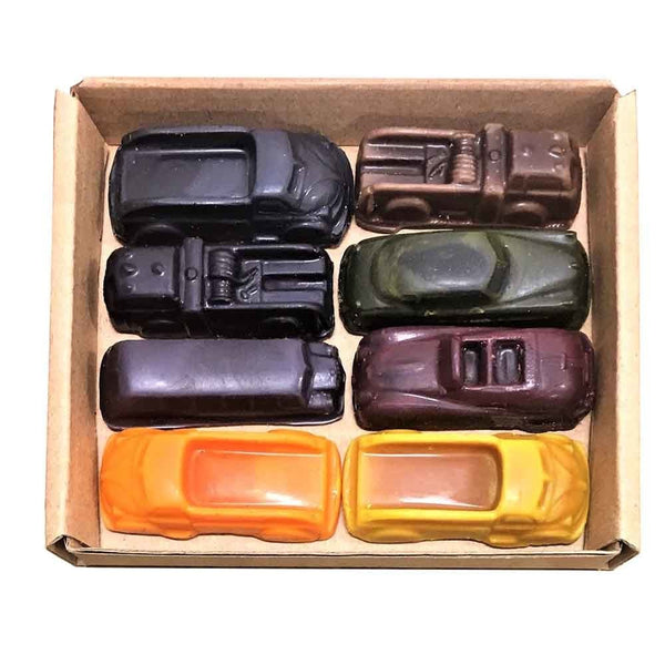 ECO CRAYONS Car & Truck 8 pack