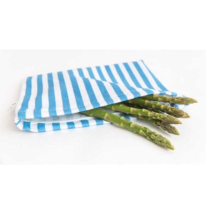 4MYEARTH Food Bag Denim Stripe - 20 x 25cm