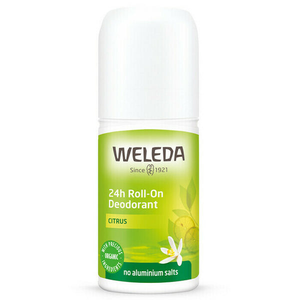WELEDA 24-hour Roll On Deodorant Citrus 50ml