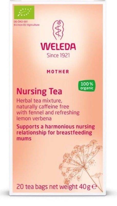 WELEDA Nursing Tea Bags Mother 20