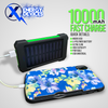 Ultra Flare 10k - Tactical Solar Portable Power Bank W/LED Survival Light!