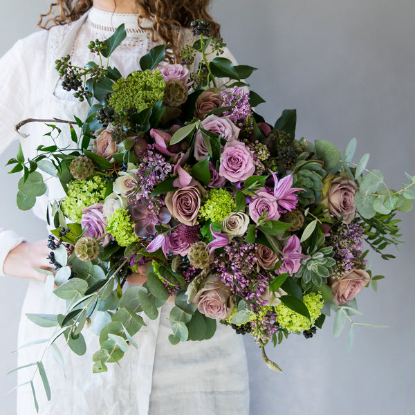 Lilac Dreams & Autumn Greens