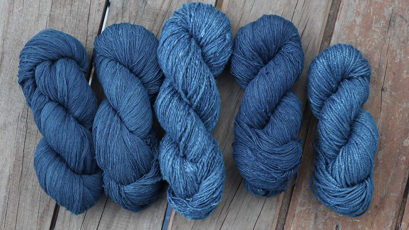 Indigo Naturally Dyed