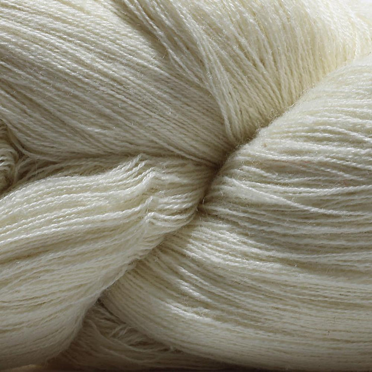 Closeup of our Eri silk yarn | Eri silk yarn | 100% vegan silk yarn | sustainable silk yarn 60/2