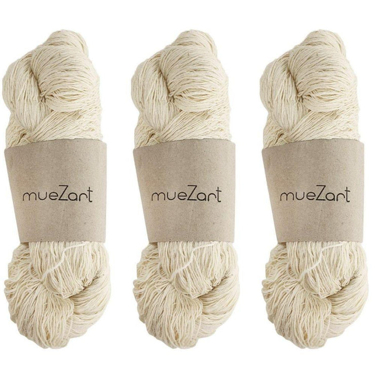 Eri silk 60/6 bundle | Pack of 3 yarn combo | Muezart