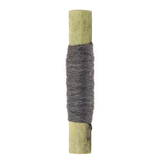 Smoky Gray Fingering 15/3 Eri Silk | Muezart | Buy Eri Silk Yarn Online | Dyed Yarn | Natural dyed yarn | Best Natural dyed yarn | Eri Silk Yarn | Crochet Yarn | Knitting Yarn
