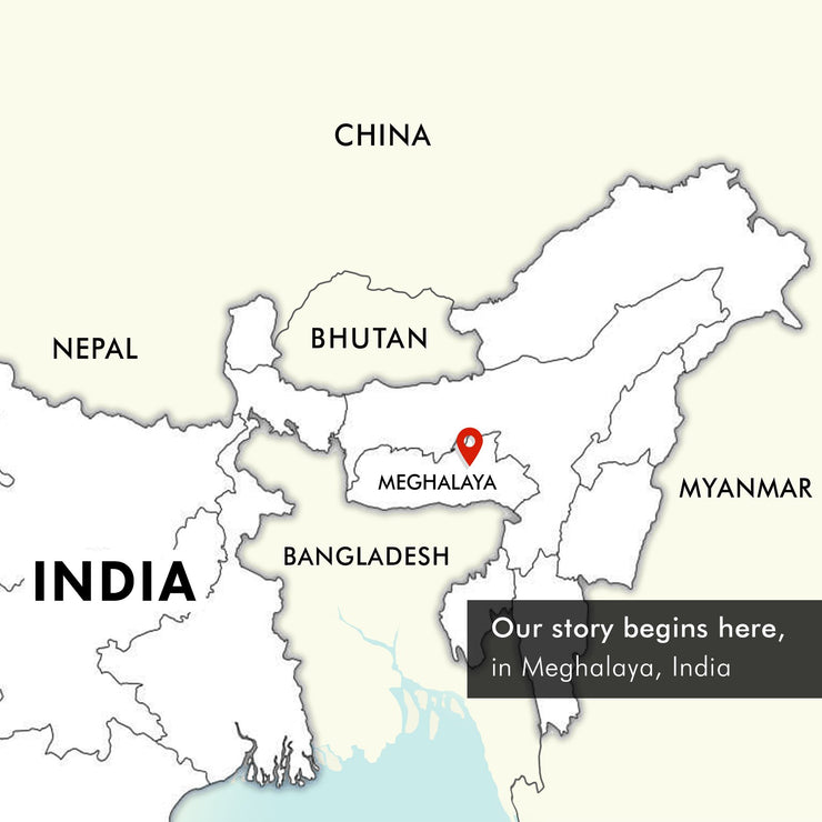 our location in meghalaya india | Muezart