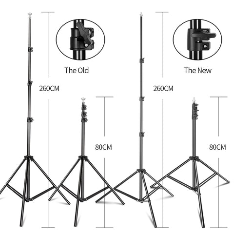Portable Backdrop Stand with Travel Carrying Case