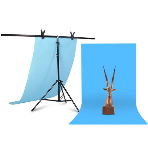 Professional Photography Photo Backdrop Stands T-Shape Background Frame Support System Stands With Clamps for Video Studio