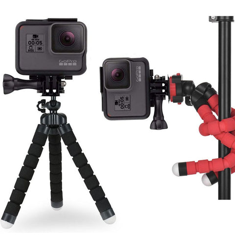 Flexible Octopus Twining Action Camera Mini Tripod