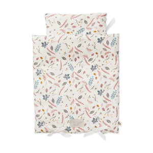 Cam Cam poppen dekbedset pressed leaves