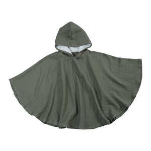Fabelab bad poncho olive green