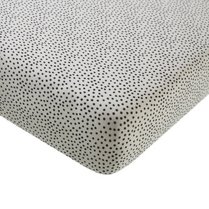 Mies & Co hoeslaken cozy dots 60x120cm