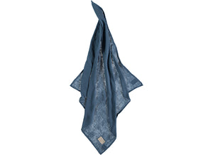 Nobodinoz swaddle night blue - 70x70cm