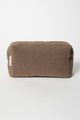 Studio Noos chunky pouch brown toilettas