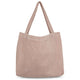 studio noos mom bag dusty pink rib