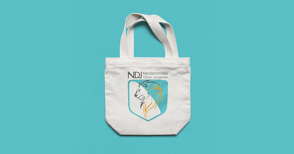 Tote bag eco tas recycle tas boodschappentas | Tucreate print design