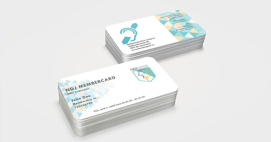 ledenkaart gembercard design ontwerp | Tucreate