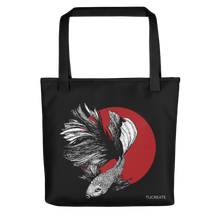 Load image into Gallery viewer, Half Moon Betta Tote bag