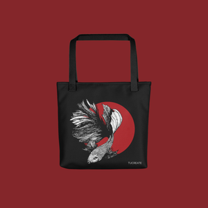 Half Moon Betta Tote bag