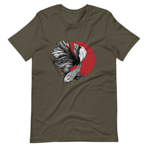 Half Moon Betta Short-Sleeve Unisex T-Shirt