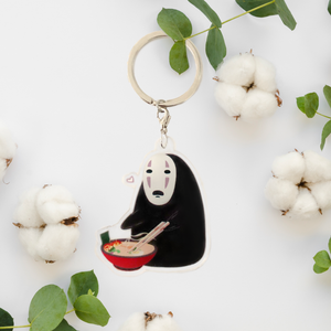 No Face Keychain
