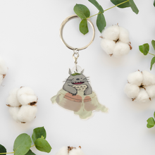 Load image into Gallery viewer, Totoro Keychain