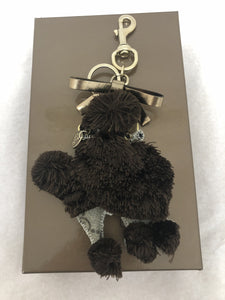 Gucci Lulu Guccioli Poodle Key Ring/Bag Charm in Box
