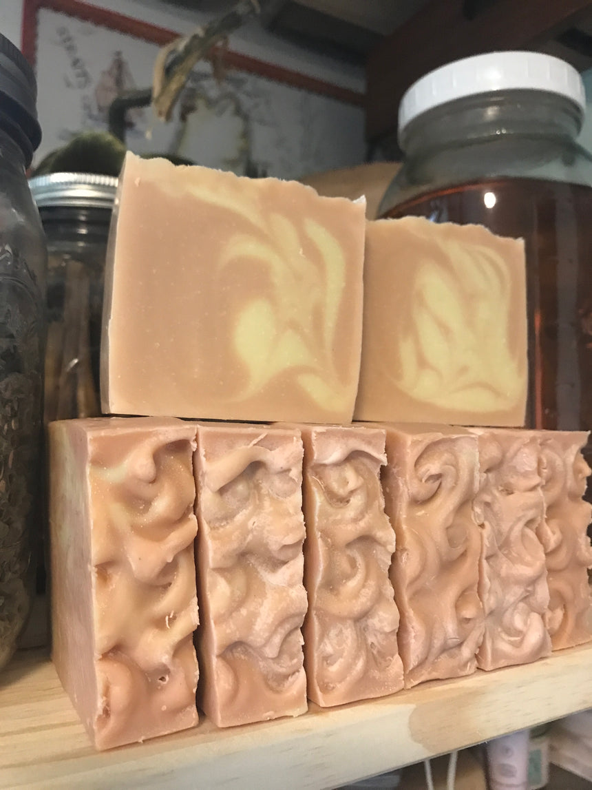 Love You Mom soap (lavender and rose)