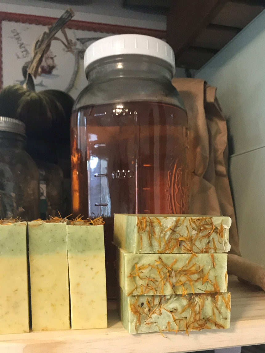 Calendula Carrot Nettle soap