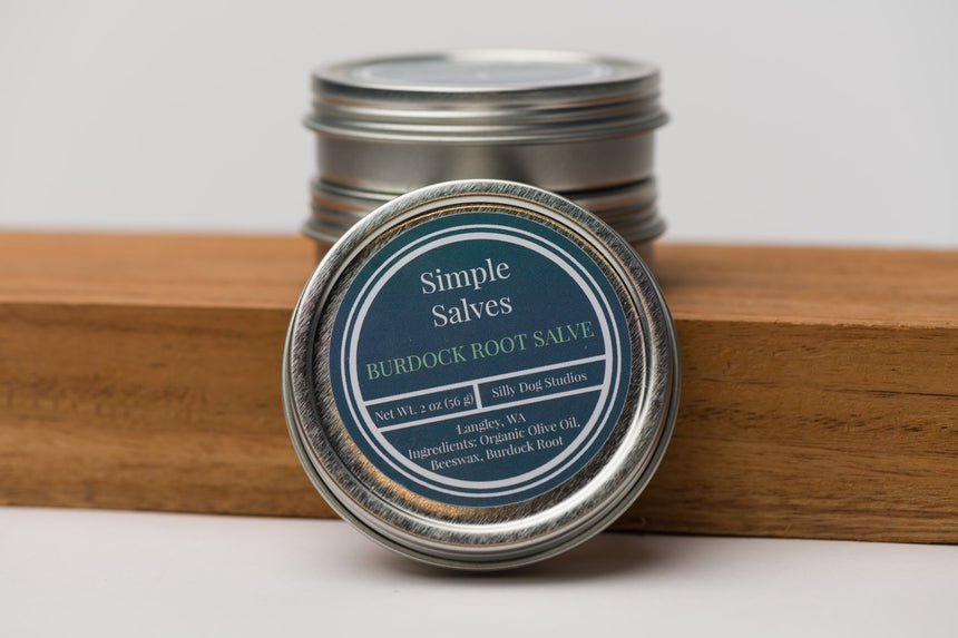 Whidbey Burdock Root simple salve
