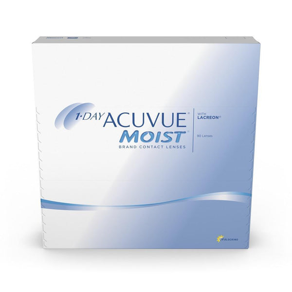 J&J 1-Day Acuvue Moist 90 Pack